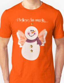 Snowman Angel Unisex T-Shirt