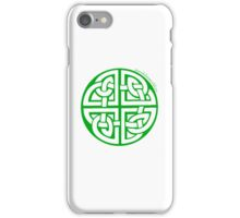 Celtic Knot n2 Green iPhone Case/Skin