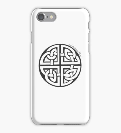 Celtic Knot n2 Dark iPhone Case/Skin
