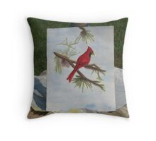 4th painting Throw Pillow