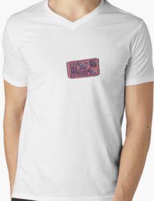Movie Ticket Mens V-Neck T-Shirt