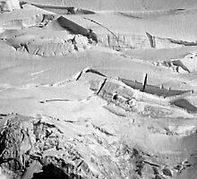 glacial flow b&w by dedmanshootn