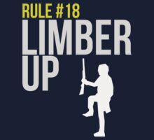 Zombie Survival Guide - Rule #18 - Limber Up