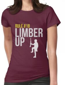 Zombie Survival Guide - Rule #18 - Limber Up Womens Fitted T-Shirt