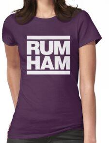 Rum Ham - Always Sunny in Philadelphia (White) Womens Fitted T-Shirt
