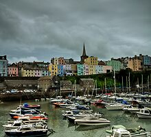 Tenby Harbour Pembrokeshire 7 by Steve Purnell