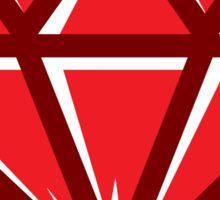 Diamond - Red Sticker