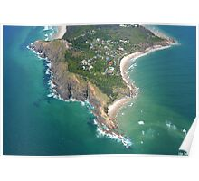 Byron Bay Aerial IV Poster