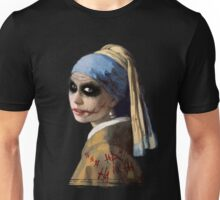 The Girl with the Broken Smile Unisex T-Shirt