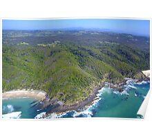 Byron Bay Aerial VI Poster