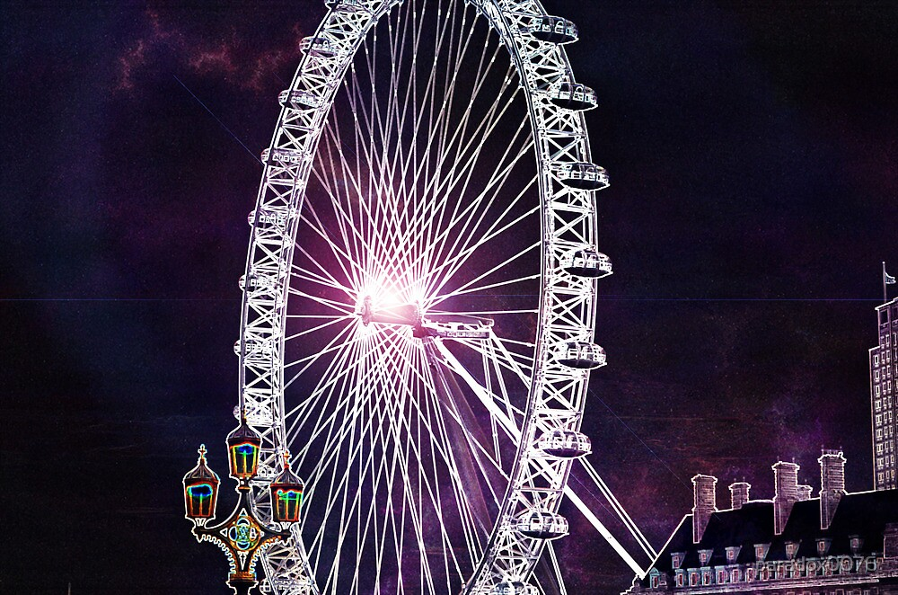 London Eye  by paradox0076