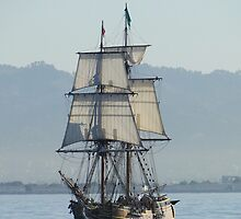 A Row with Lady Washington by AH64D