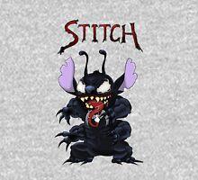 Venom Stitch crossover no background Zipped Hoodie