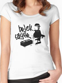 Bricklayer Women's Fitted Scoop T-Shirt