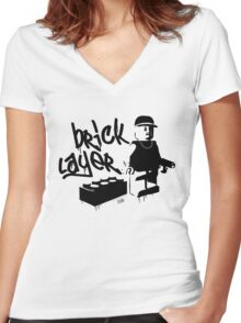 Bricklayer Women's Fitted V-Neck T-Shirt