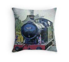 La Gare Cranmore Throw Pillow