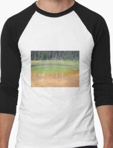 Kootenay National Park 1, Alberta, Canada Men's Baseball ¾ T-Shirt