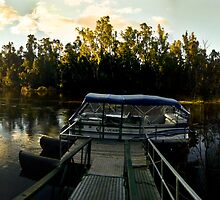 Cape Horn Murray River Panorama by Russell Charters