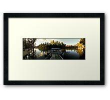 Cape Horn Murray River Panorama Framed Print