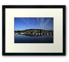 Bellerive Yacht Club Hobart Framed Print