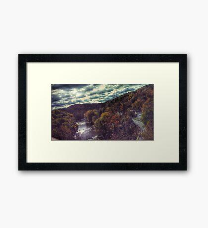 Fall Landscape Framed Print