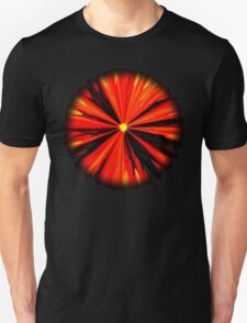 Eruption in Red Unisex T-Shirt