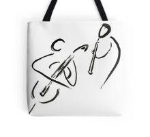 cello & oboe (haiga IX)  Tote Bag