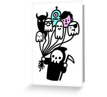 Soul Collector Doodle Greeting Card