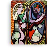 Picasso, Girl Before a Mirror Canvas Print