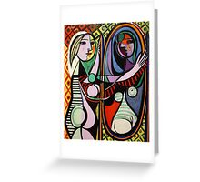 Picasso, Girl Before a Mirror Greeting Card