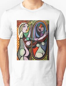 Picasso, Girl Before a Mirror Unisex T-Shirt