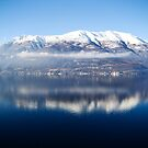 mirrored in blue by faithie