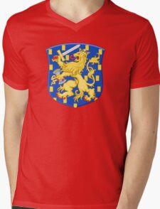 Lesser Coat of Arms of Netherlands Mens V-Neck T-Shirt
