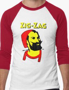 ZIG-ZAG PAPER Men's Baseball ¾ T-Shirt