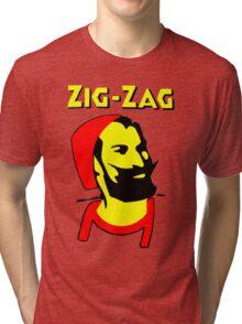 ZIG-ZAG PAPER Tri-blend T-Shirt