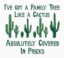 Cactus Family Tree by BigFluffyFozzie