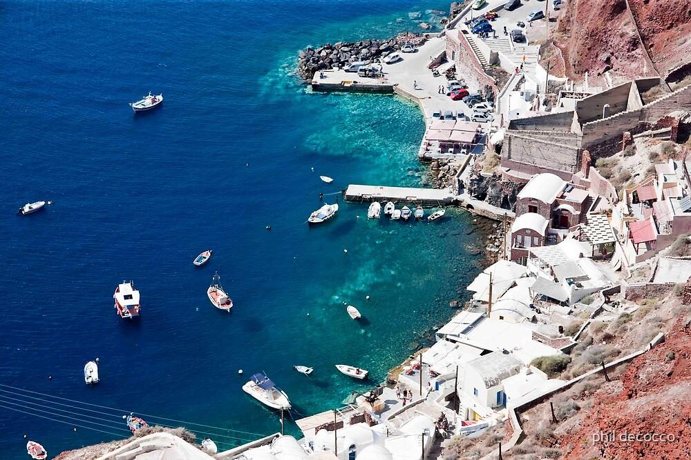 Oia Marina by phil decocco