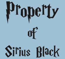 Property of Sirius Black Kids Tee