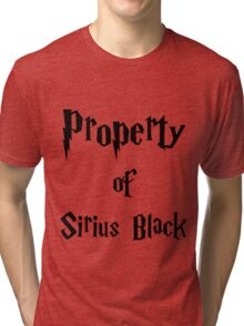 Property of Sirius Black Tri-blend T-Shirt
