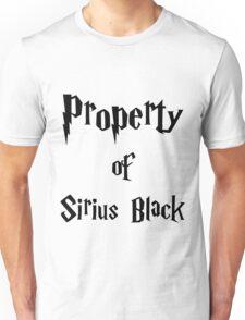 Property of Sirius Black Unisex T-Shirt