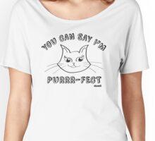 Purrr-fect Women's Relaxed Fit T-Shirt