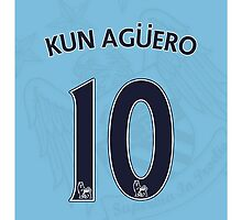 Kun Aguero by Bourne23a