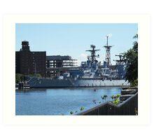 USS Little Rock Art Print