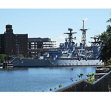 USS Little Rock Photographic Print