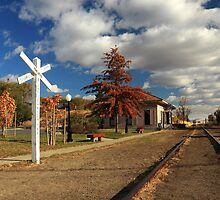 The Susanville Train Depot by James Eddy