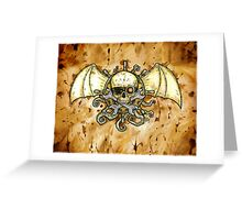 Airships and Tentacles Greeting Card