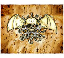Airships and Tentacles Photographic Print