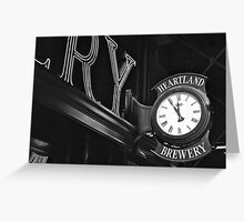 Eleventh Hour  Greeting Card