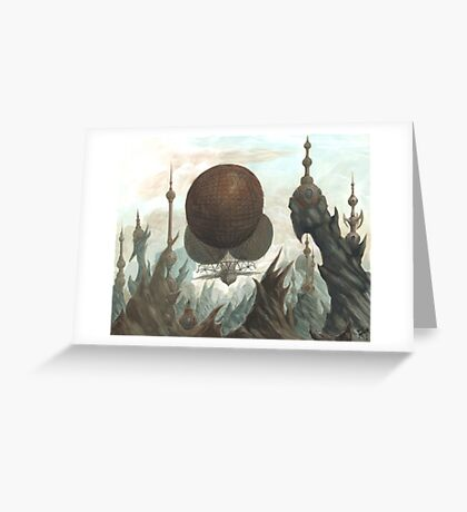The Ruins Greeting Card