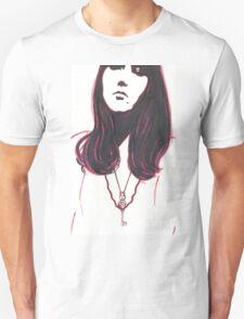 high contrast self portrait Unisex T-Shirt